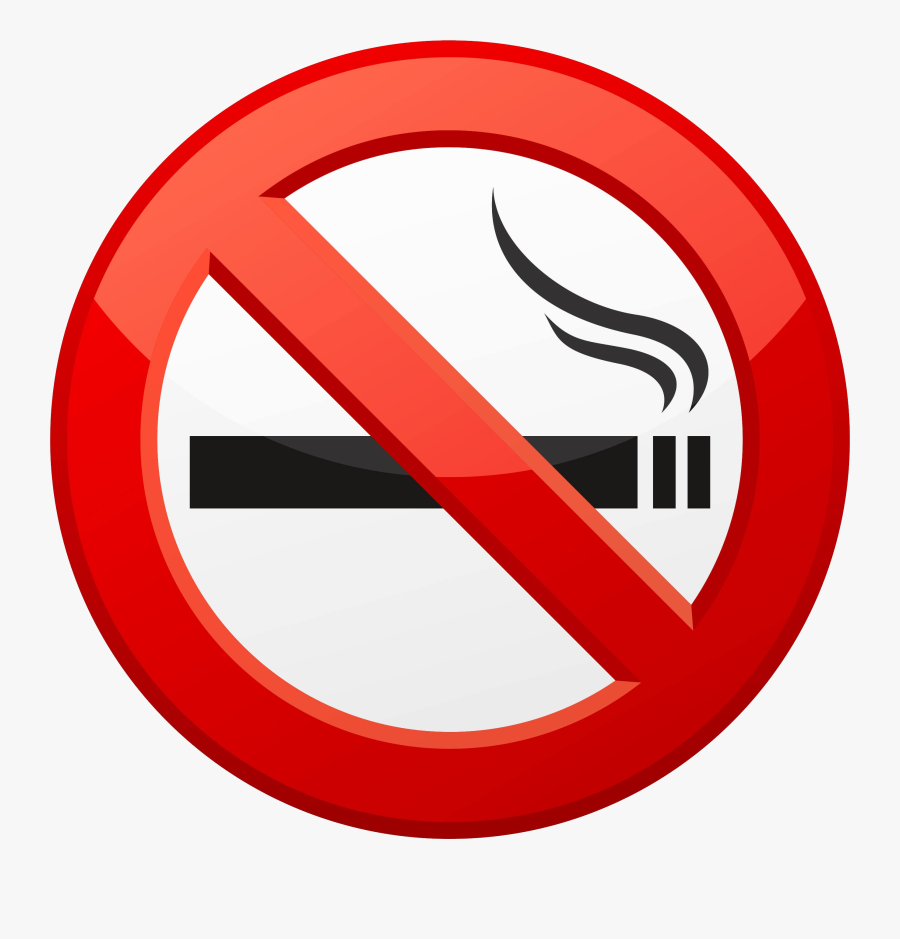 No Smoking Clipart - No Smoking Sign Hd, Transparent Clipart