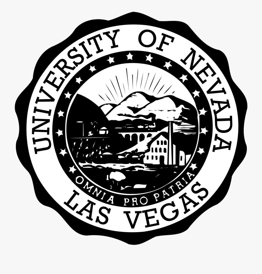 University Of Nevada, Las Vegas - University Of Nevada Las Vegas Seal, Transparent Clipart