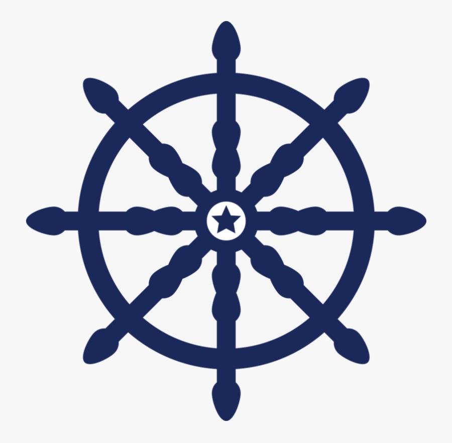 Ship Wheel Clip Art Free Transparent Png - Boat Steering Wheel Png, Transparent Clipart