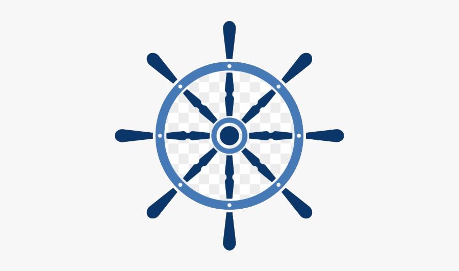 Ship Wheel Cruise Clipart Rudder Vector Free Transparent - Ship Steering Wheel Clipart, Transparent Clipart