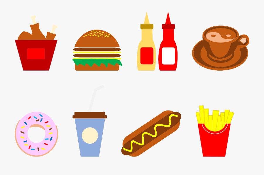Food Artwork Fast Food Gambar Makanan Dan Minuman Animasi Free