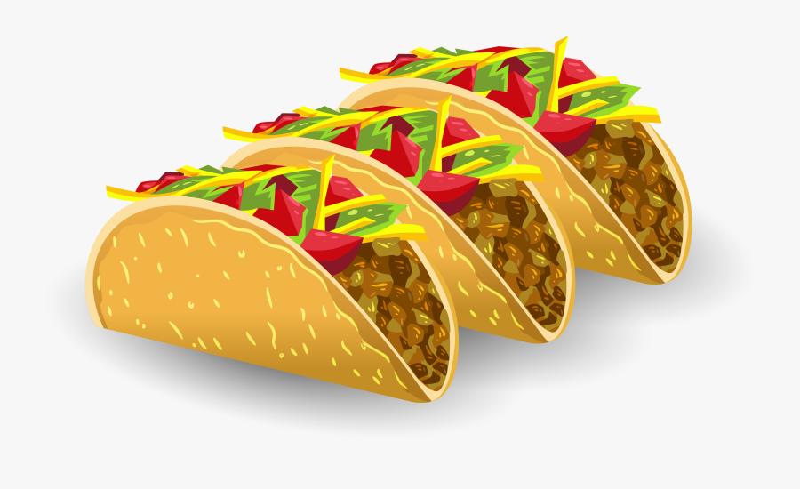 Dessert Junk Food Clipart - Tacos Al Pastor Vector, Transparent Clipart