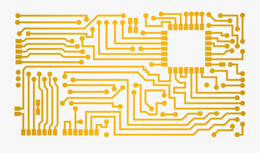 Circuit Diagram Printed Electric Circuit Board Png - Circuit Board Png Free, Transparent Clipart