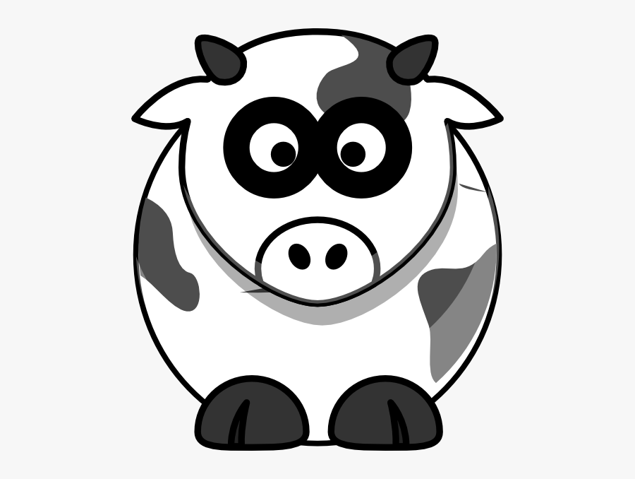 Clipart Cartoon Cow, Transparent Clipart