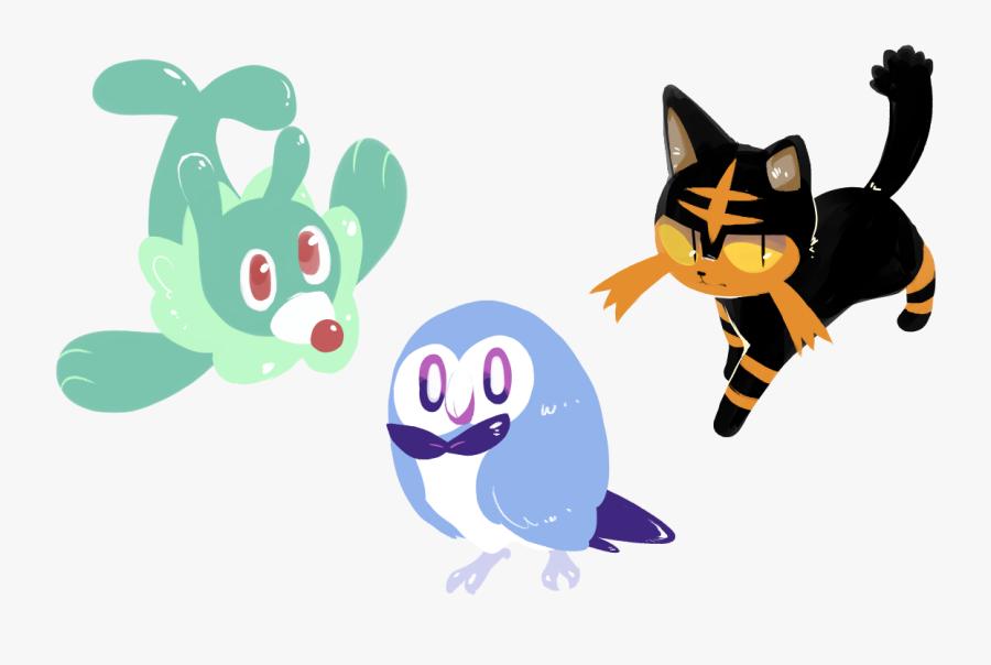 All Shiny Pokemon Sun And Moon Images - Draw Pokemon Starters Shiny, Transparent Clipart
