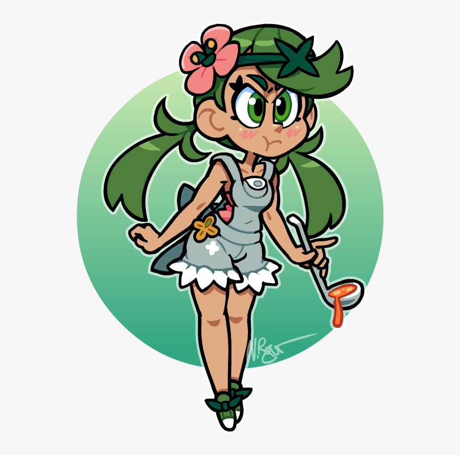 Mallow By The-knick - Pokemon Sun And Moon Mallow, Transparent Clipart