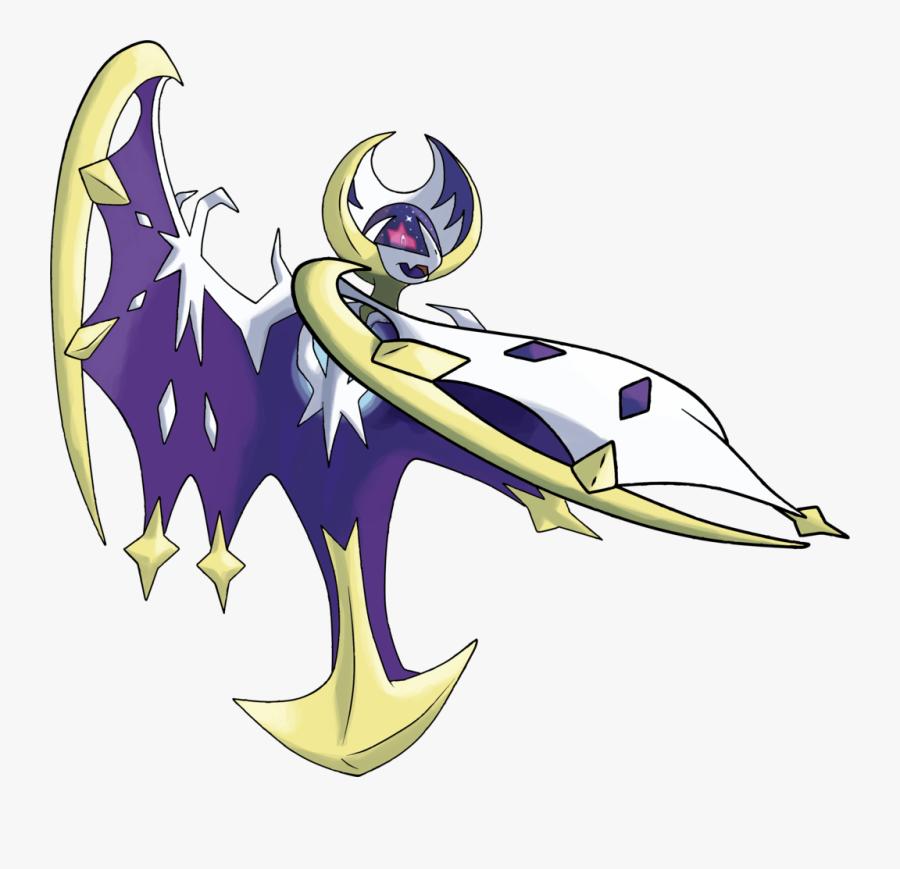 Lunaala Pokemon Moon Legendary, Transparent Clipart