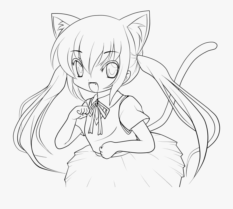 Whiskers /m/02csf Cat Line Art Drawing - Line Art, Transparent Clipart