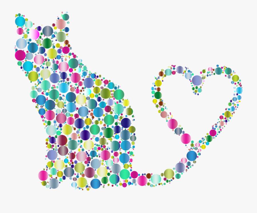 Animal Heart Circle Free - Clip Art, Transparent Clipart