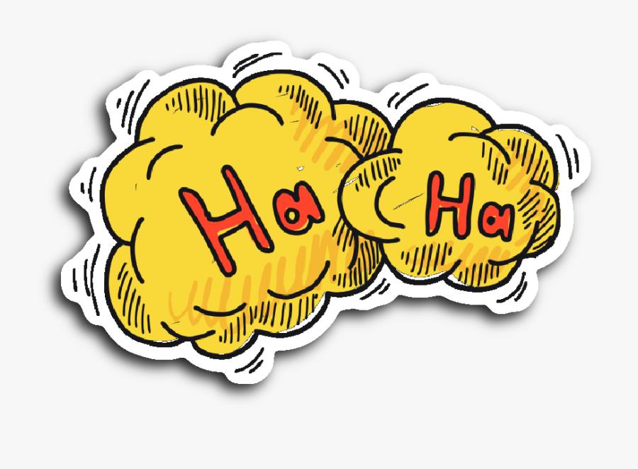 Hand Drawn Comic Book Speech Balloon Stickers - Speech Balloon, Transparent Clipart