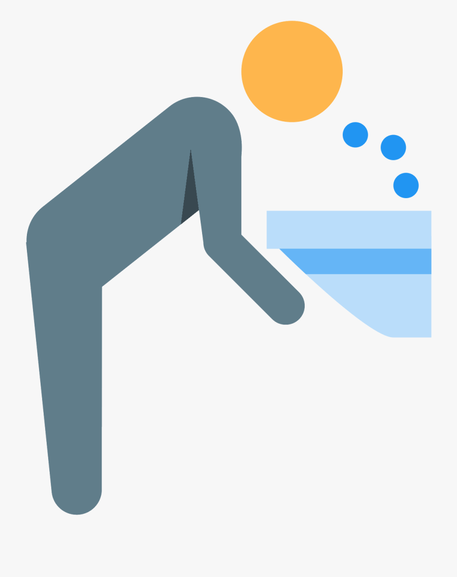 Drinking Fountain Icon, Transparent Clipart