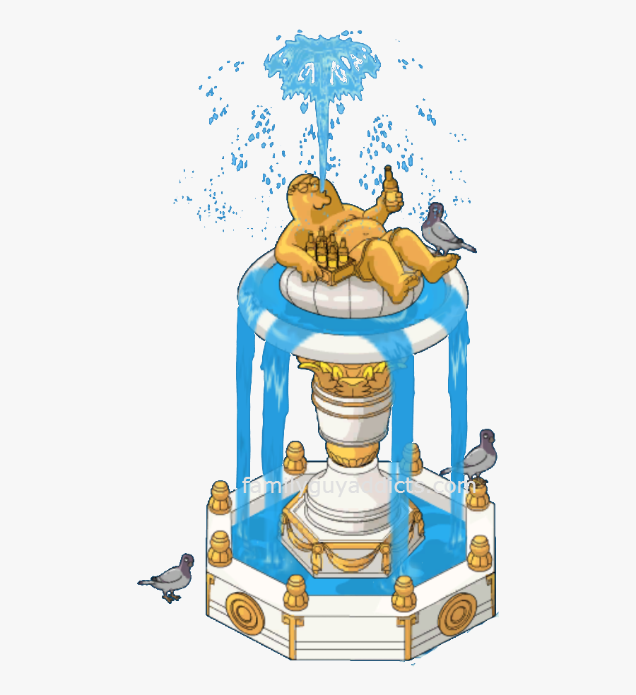 Fountain Clipart Big Water, Transparent Clipart