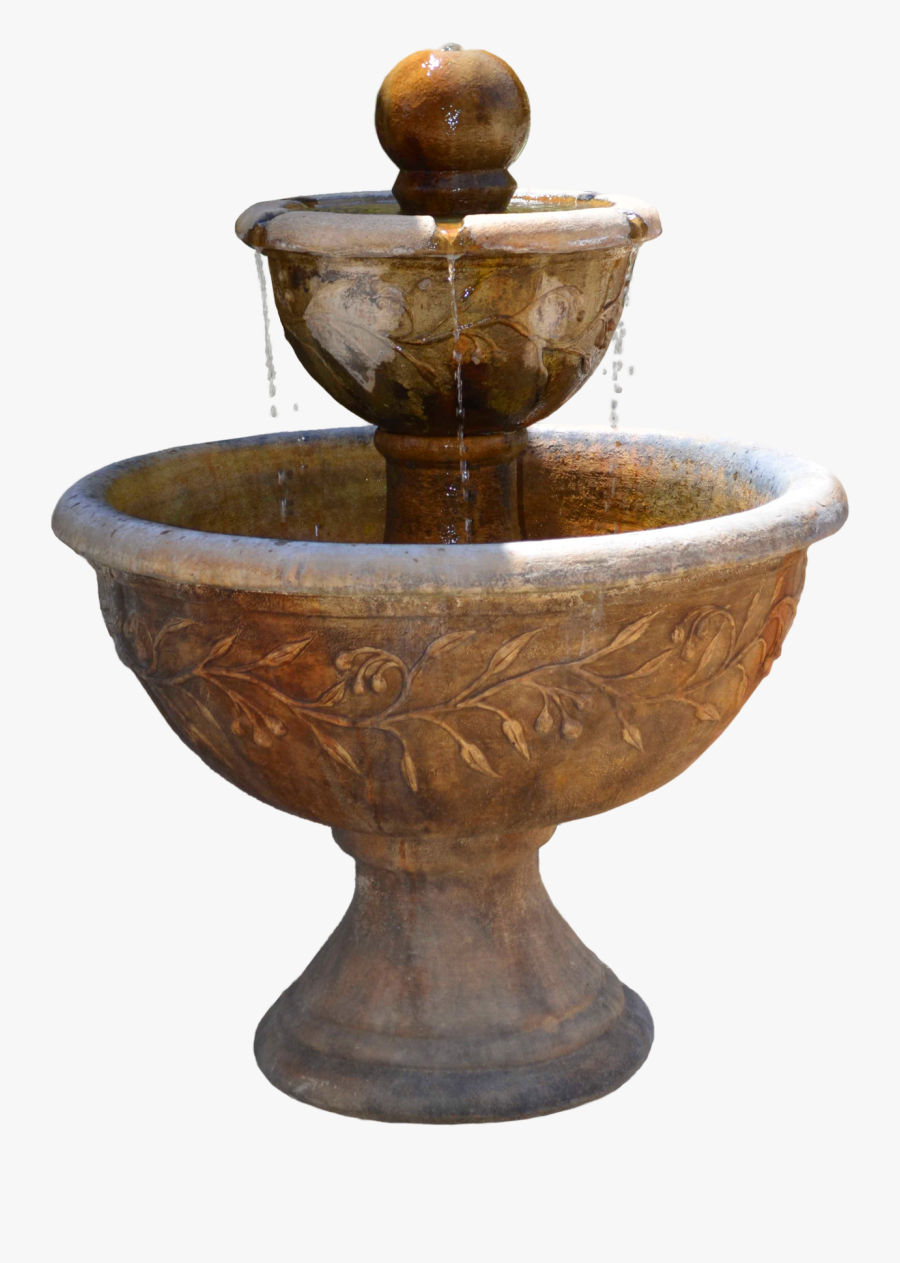 Fountain - Png Fountain, Transparent Clipart