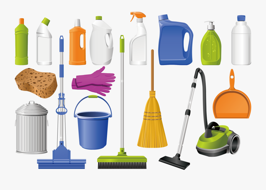 Cleanliness Vacuum Cleaner Detergent - Tools And Equipment In Housekeeping, Transparent Clipart