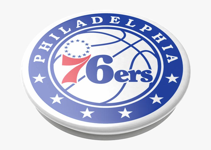 Philadelphia 76ers Logo Popsockets Popgrip Philadelphia 76ers Logo Free Transparent Clipart Clipartkey