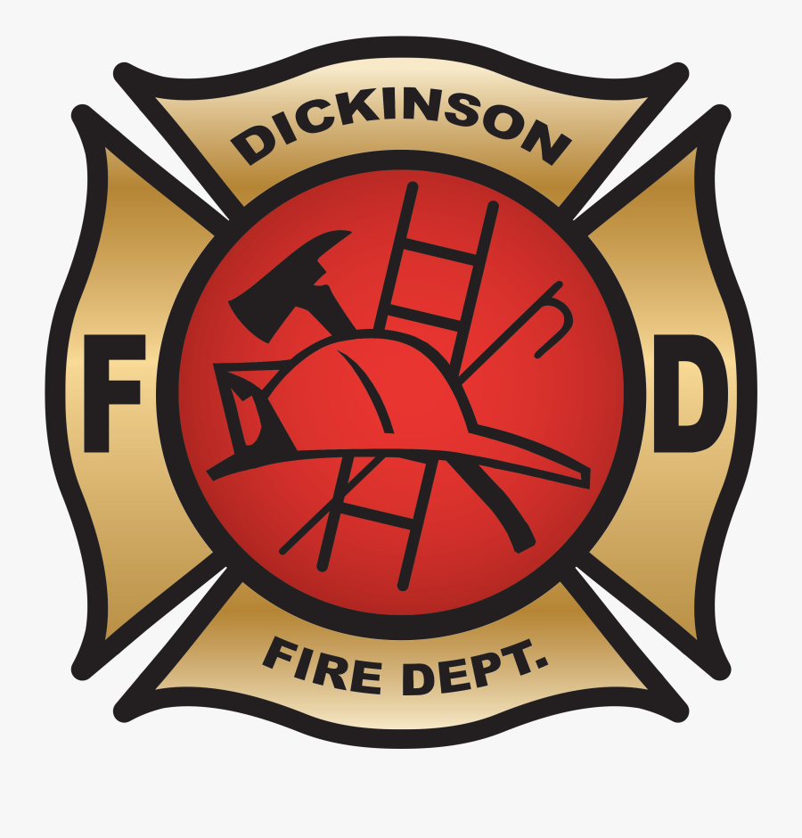Transparent Fire Station Building Clipart - Dickinson Fire Department Nd, Transparent Clipart