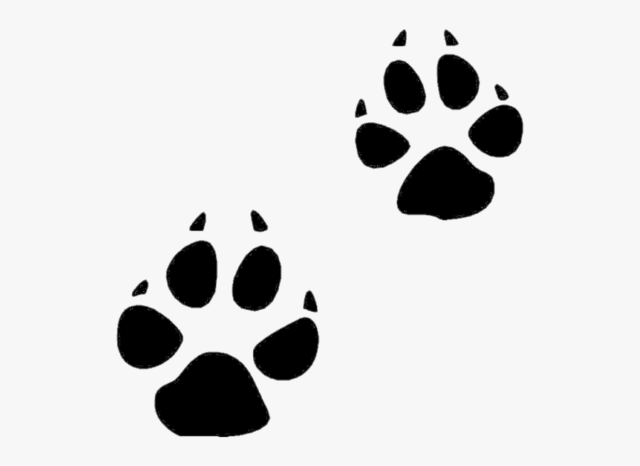 Paw Print Cat Clip Art Freeuse Library Huge Freebie - Symbols For A Dog, Transparent Clipart