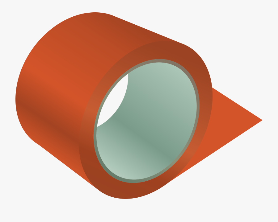 Roll Of Tape Png - Roll Of Tape Clipart, Transparent Clipart
