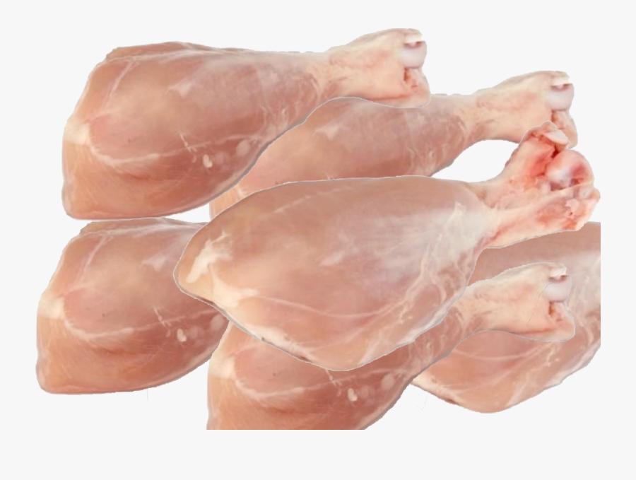 Chicken Leg Piece - Chicken Leg Piece Meat, Transparent Clipart