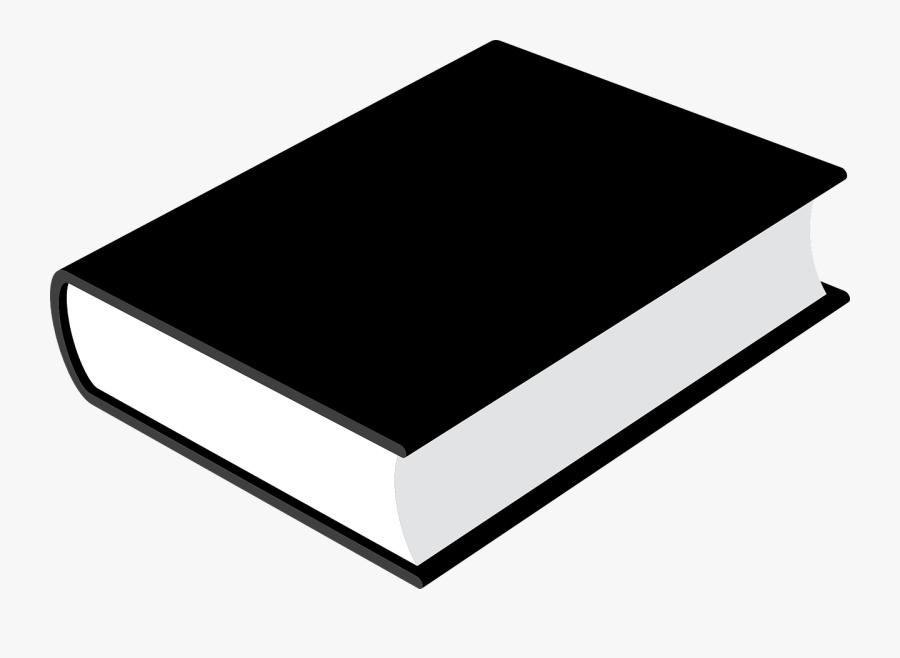 Book Closed Black Blank Library Png Image Clipart , - รูปภาพ หนังสือ ขาว ดำ, Transparent Clipart