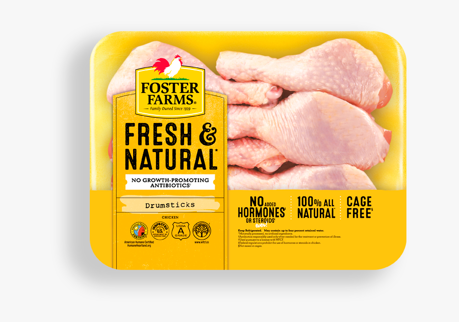 Transparent Chicken Meat Png - Foster Farms Chicken Thighs, Transparent Clipart