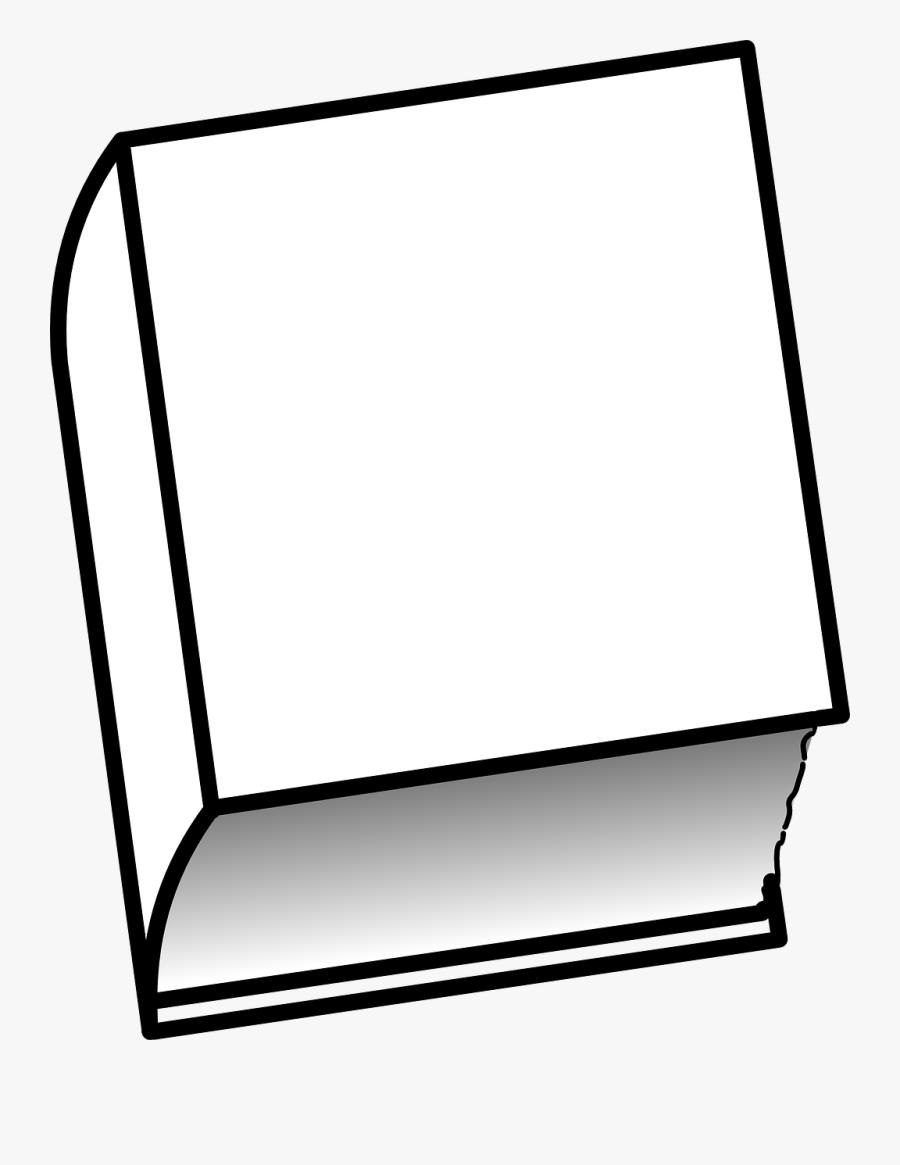 Book, Closed, Thick - Book, Transparent Clipart