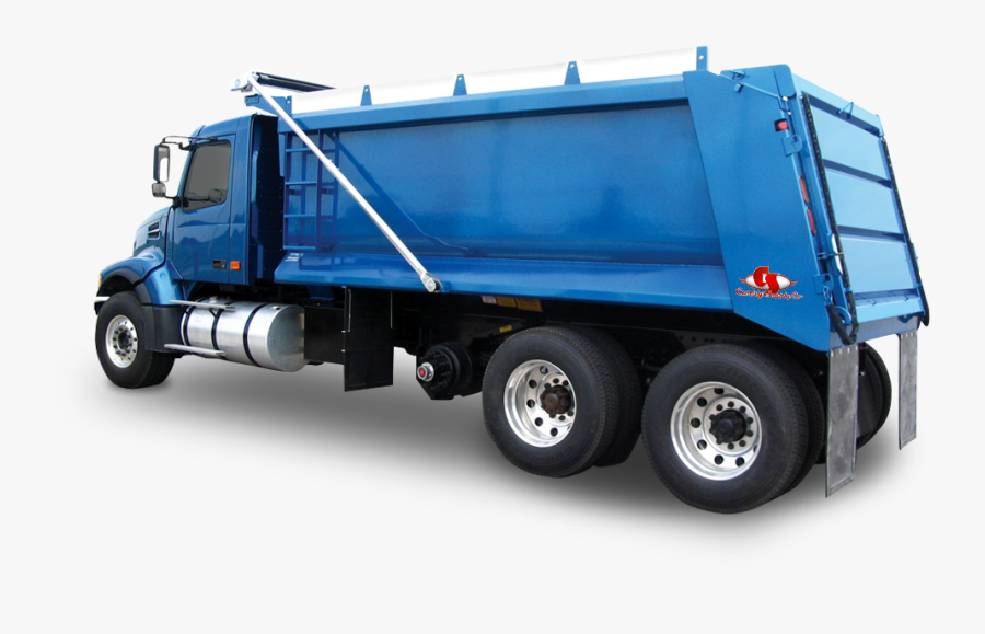 Land Truck,commercial Vehicle,garbage Truck,mode Of - Dump Truck, Transparent Clipart