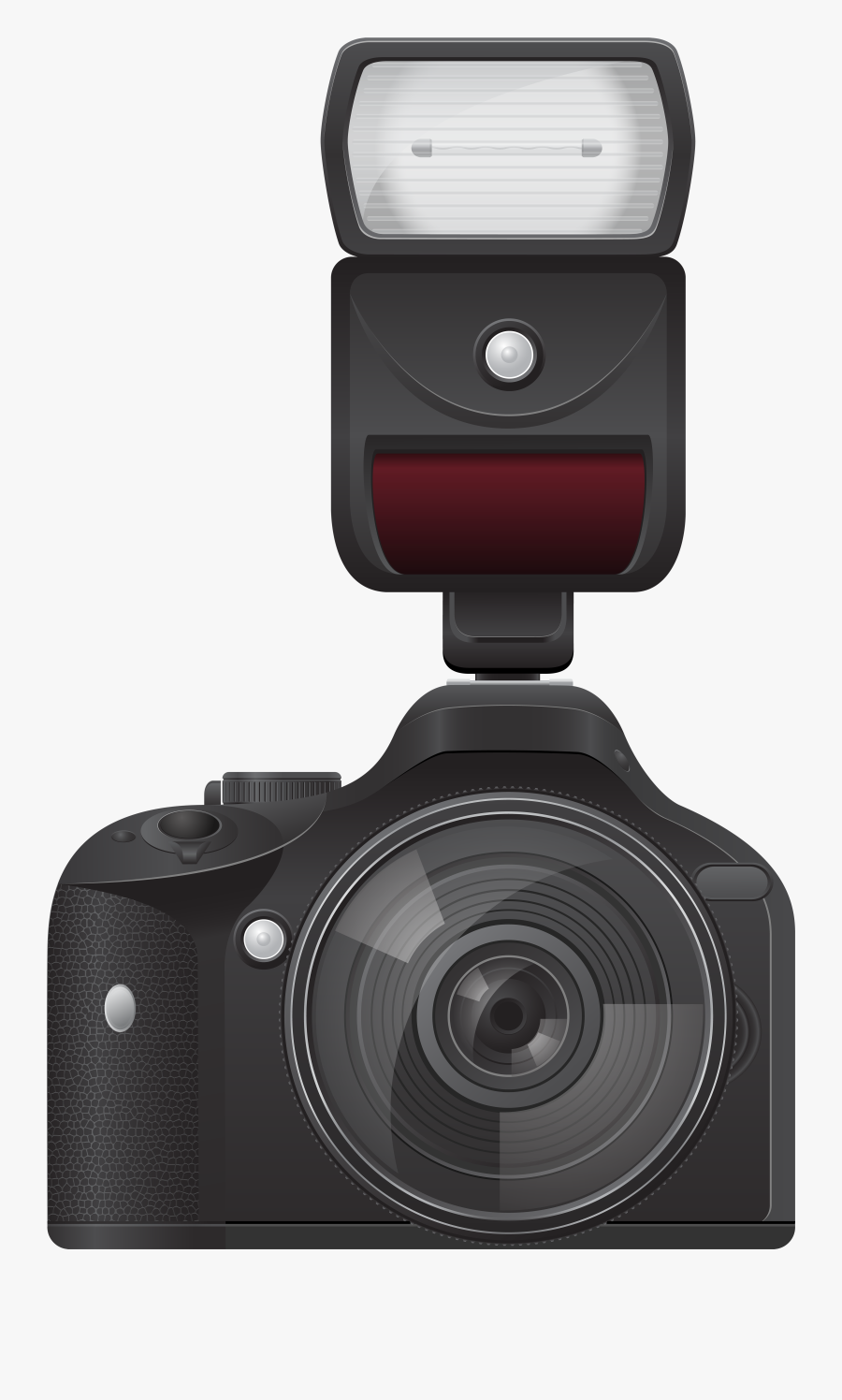 Camera With Flash Transparent Png Image Png Download - Camera Flash Png Gif, Transparent Clipart