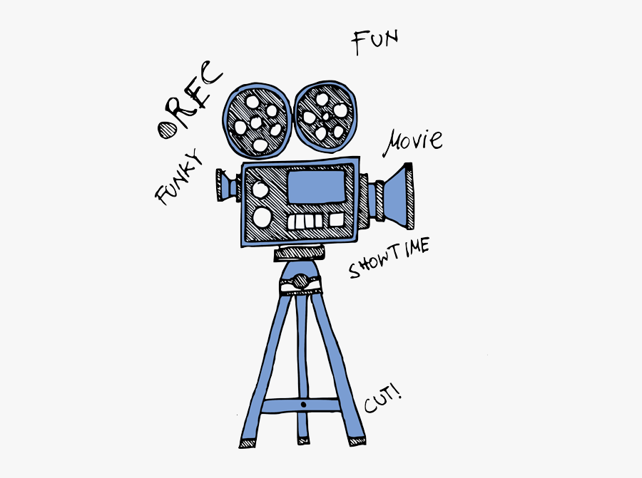 Video Recorder Clipart Film Making - Video Camera, Transparent Clipart