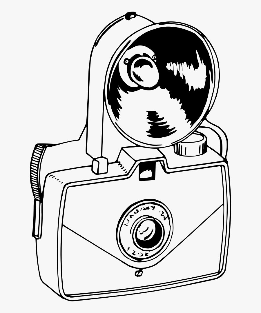 Monochrome - White Camera Png Icons, Transparent Clipart