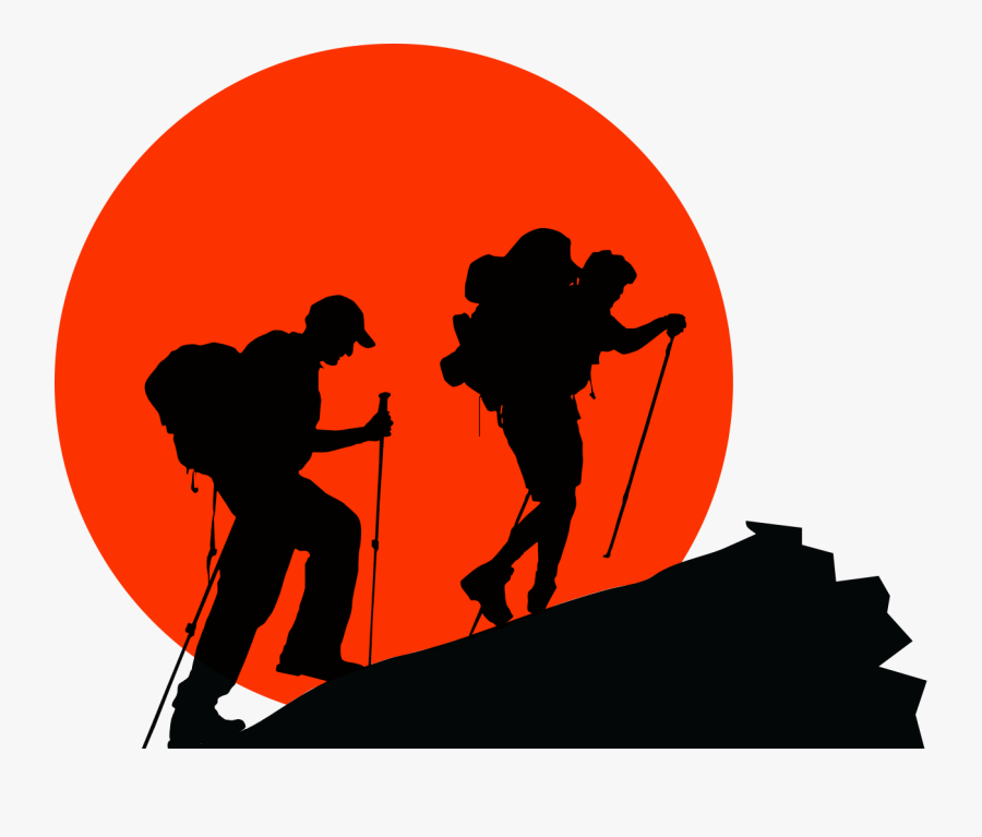 Vector Graphics Royalty-free Climbing Illustration - Vektor Pendaki Gunung Png, Transparent Clipart