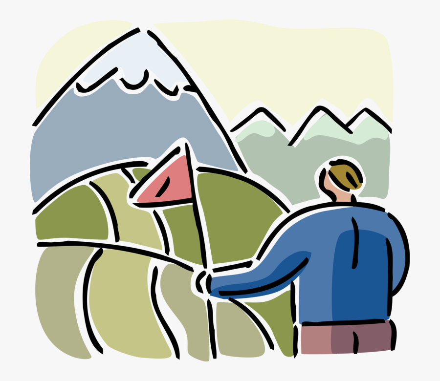 Transparent Mountain Climber Clipart, Transparent Clipart