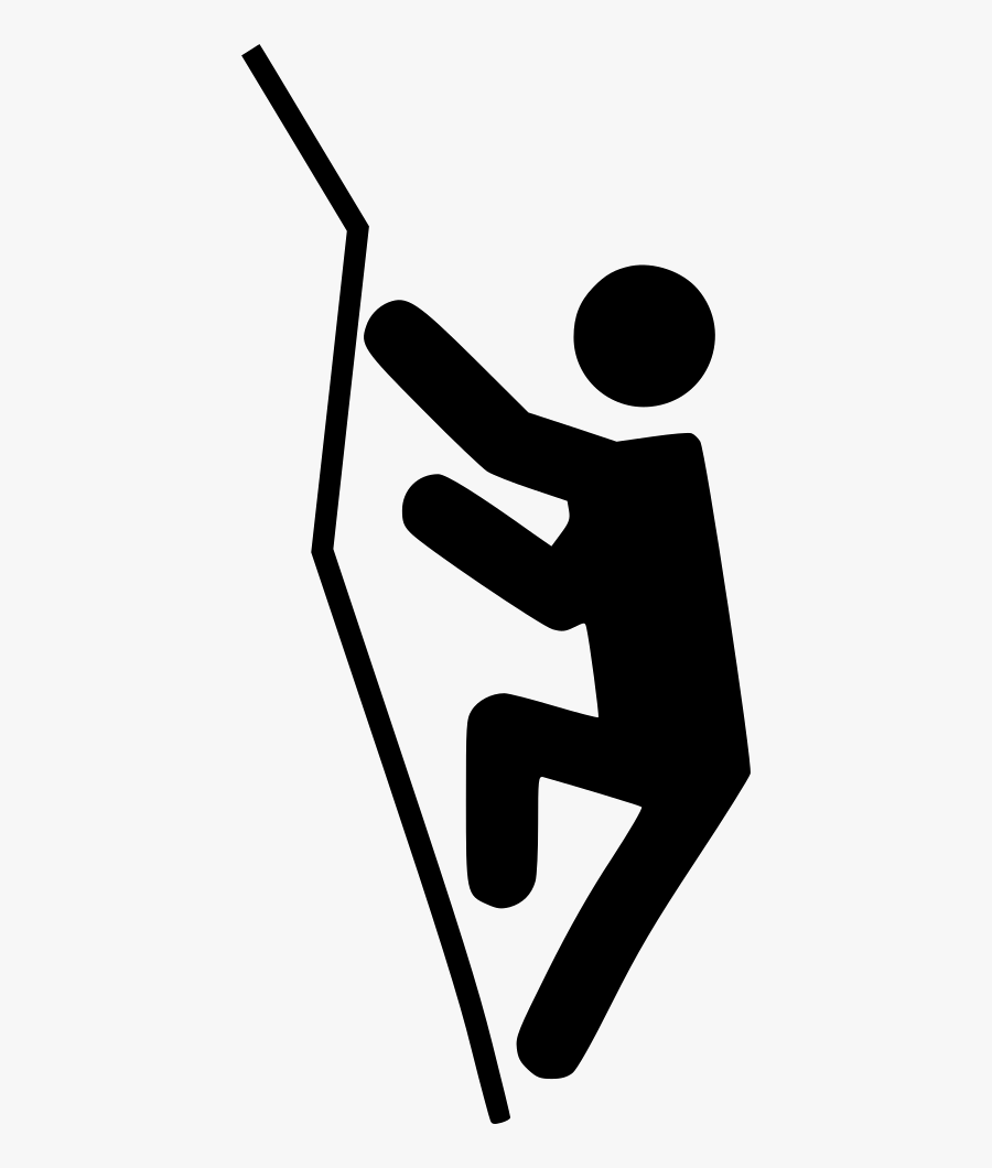 Rock Climbing Svg Png Icon Free Download - Rock Climbing Symbol Png, Transparent Clipart
