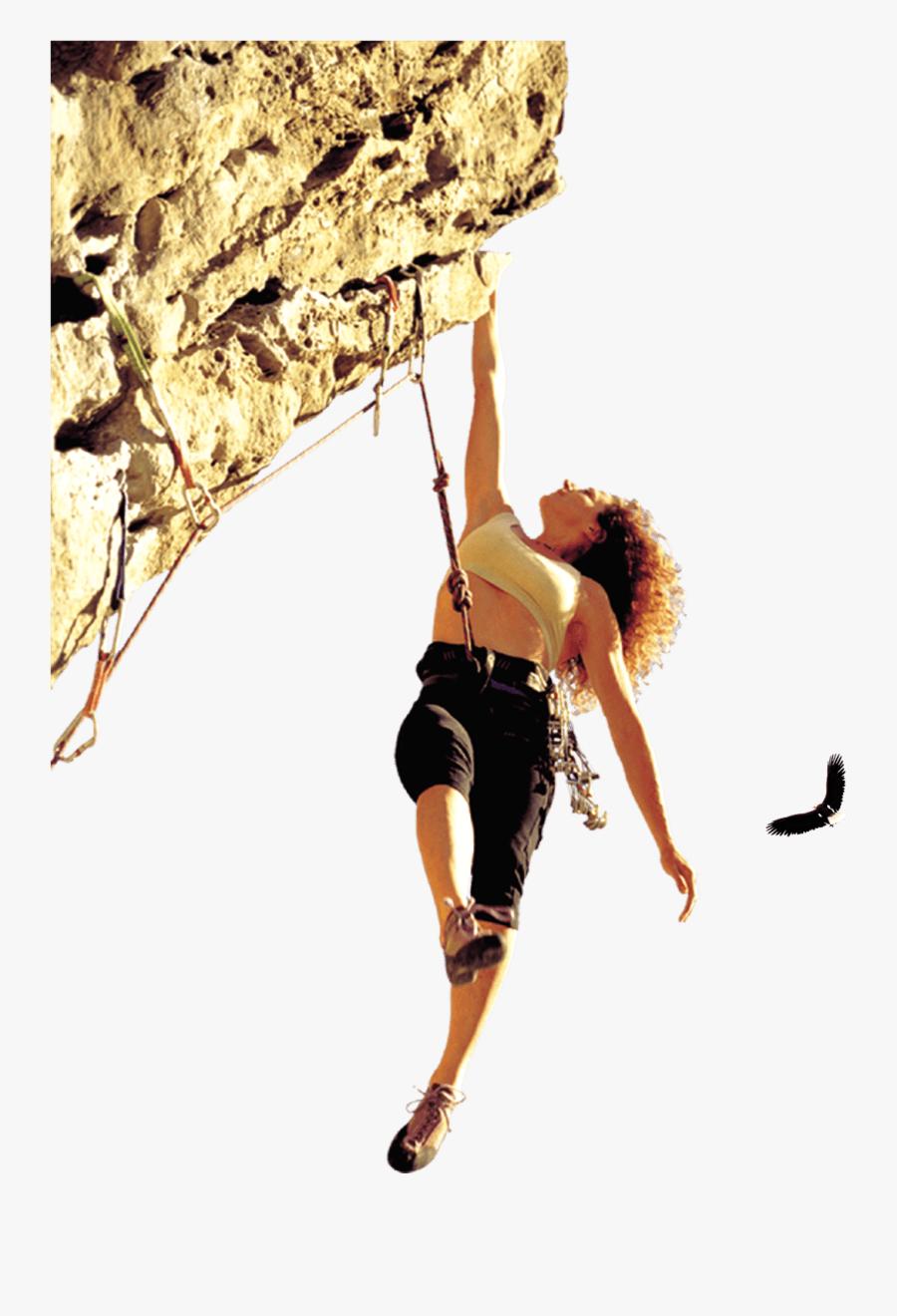 Rock Climbing Png, Transparent Clipart