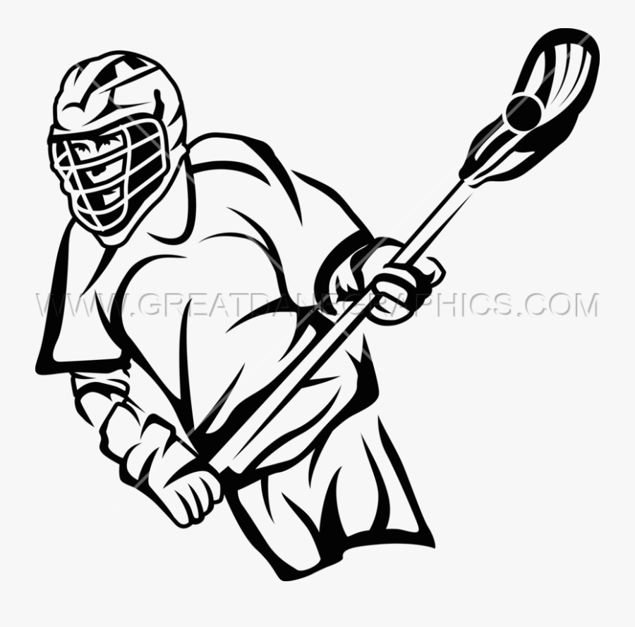 Lacrosse,line Art,stick And Ball Sports,coloring Book,clip - Lacrosse Kid Player Line Drawing, Transparent Clipart
