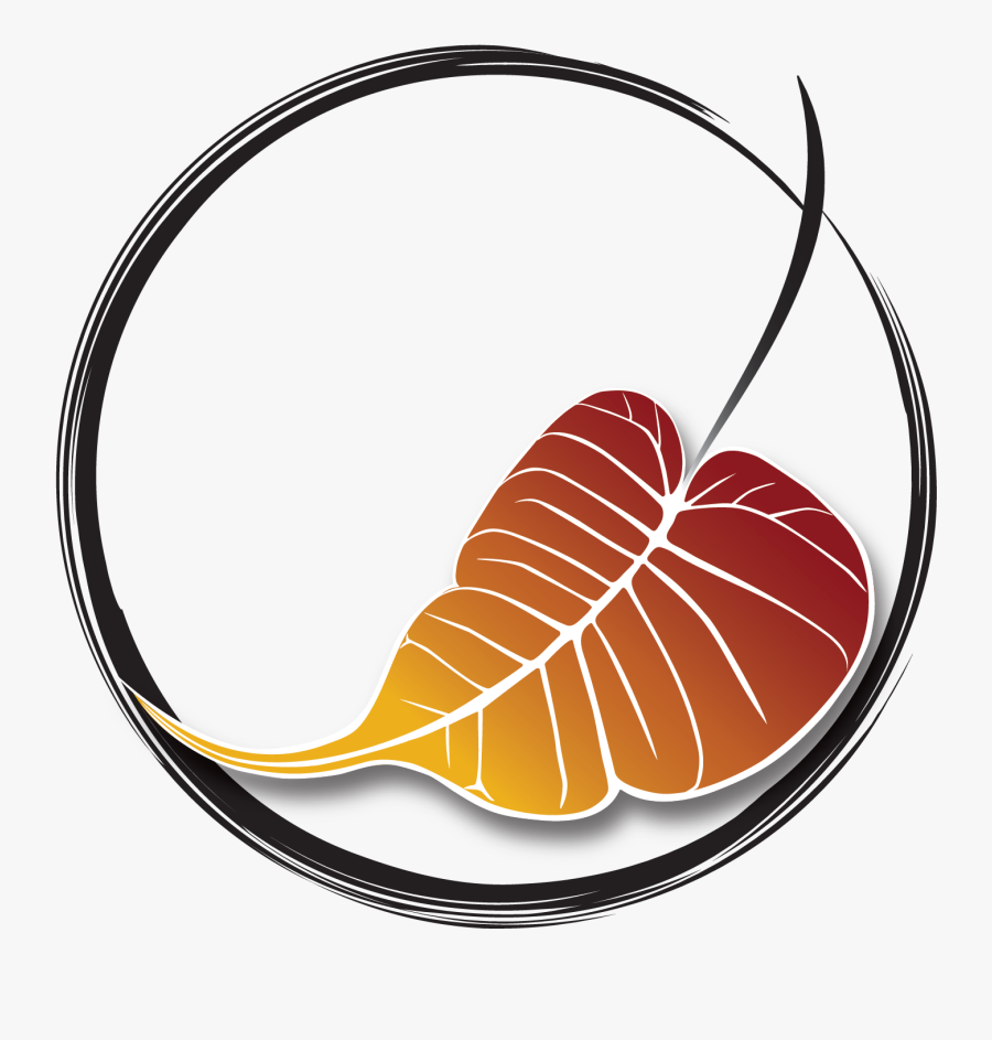 Bodhi Tree Leaf Drawing , Free Transparent