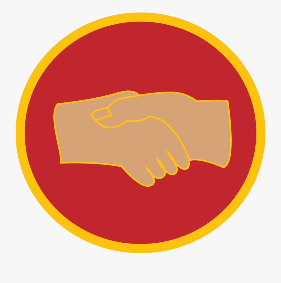 Helping Hand Adventurer Club Logo - 256 X 256 Icon, Transparent Clipart