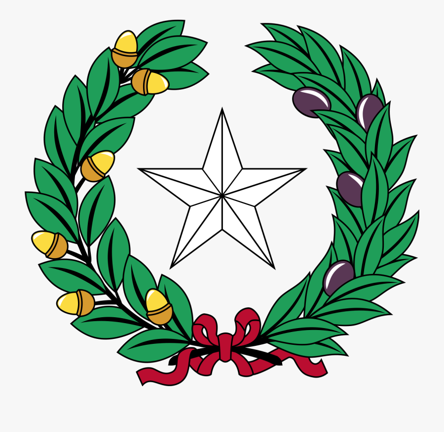 Two State Symbols Of Texas, Transparent Clipart