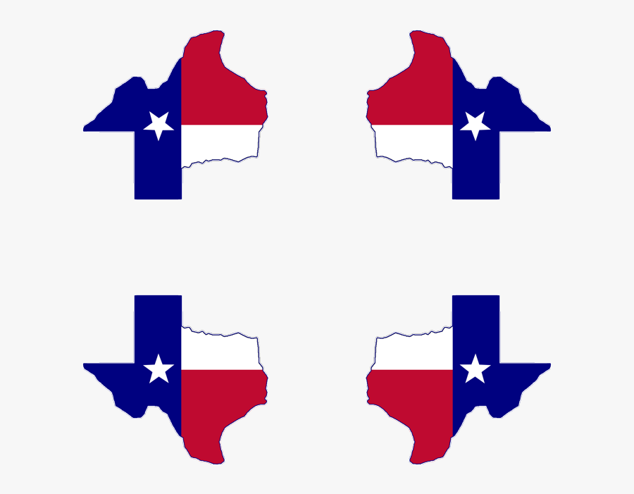 Texas Flag Map Mousepad - Great Pacific Garbage Patch Graph, Transparent Clipart