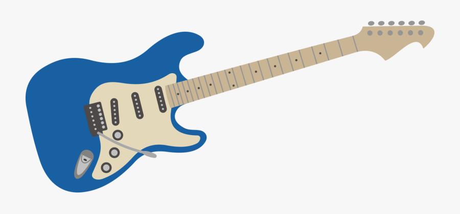 Guitarist,string Instrument,guitar Accessory - Electric Guitar Blue Png, Transparent Clipart