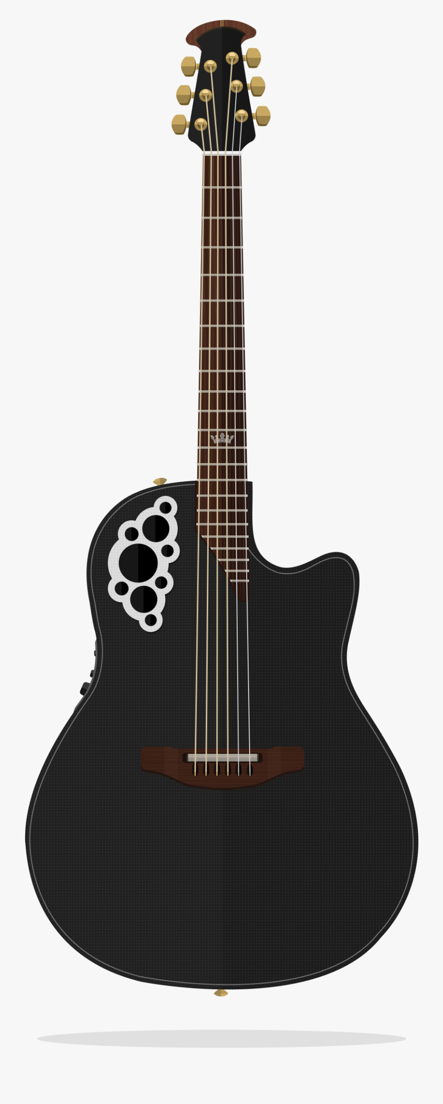 Flatguitars Clip Freeuse - Ovation Guitar Company, Transparent Clipart