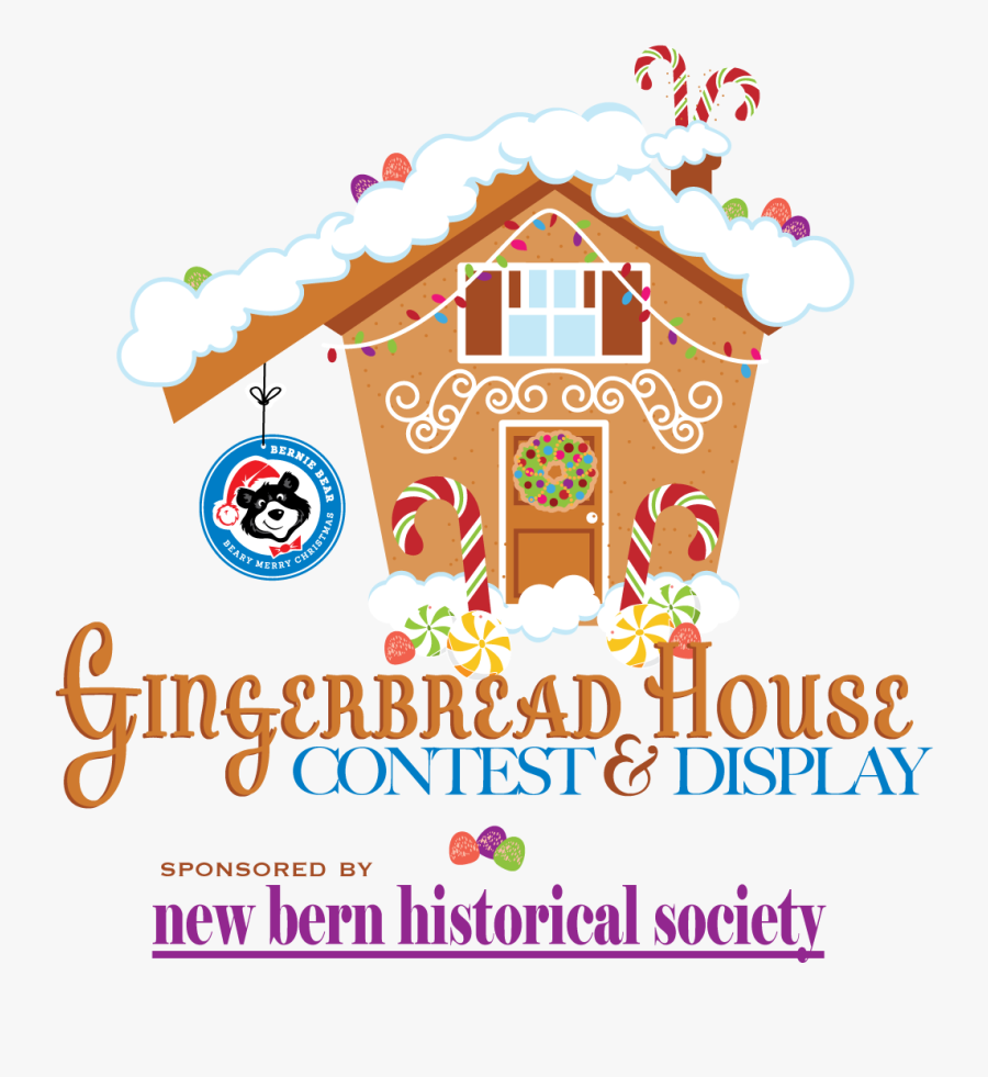 Gingerbread House, Transparent Clipart