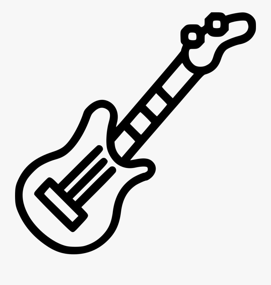 Electric Guitar Black Cartoon Guitar Png Free Transparent Clipart Clipartkey