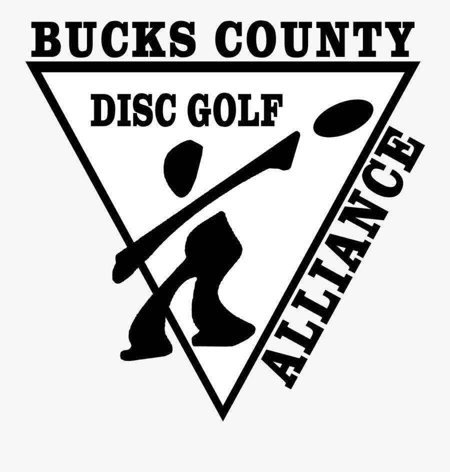 Bucks County Disc Golf Alliance, Transparent Clipart