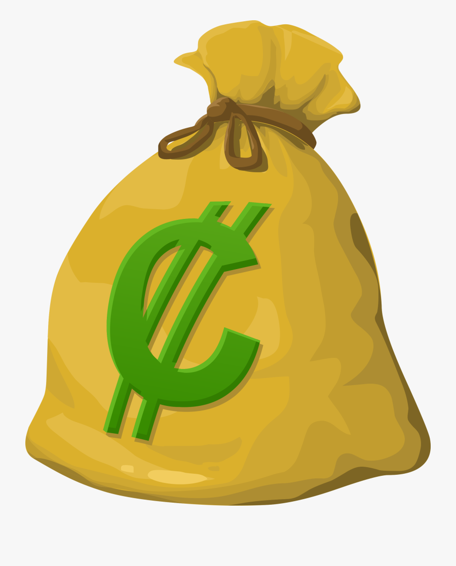 Misc Money Bag Clip Arts - Coin Bag Clip Art, Transparent Clipart