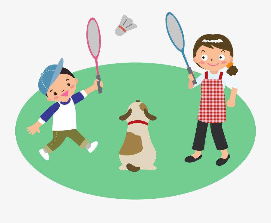 Play Clipart Play - Badminton Clip Art, Transparent Clipart