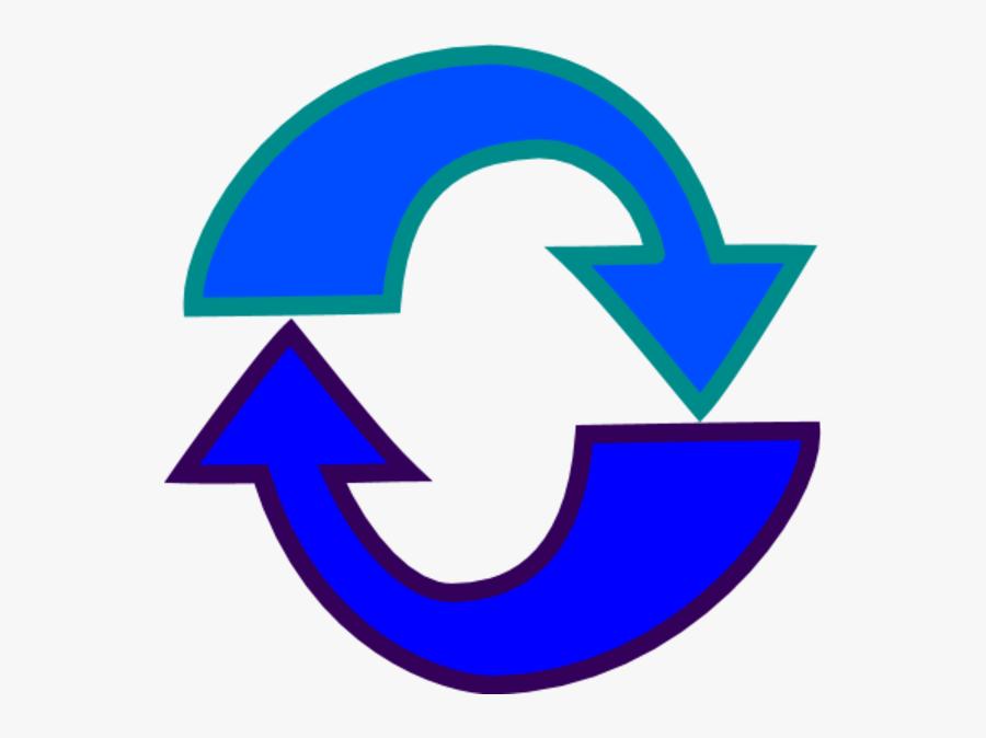 Refresh Button Clip Art - Emblem, Transparent Clipart
