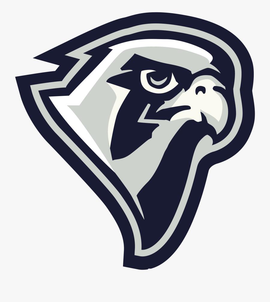 Clip Art Falcon Mascot Images - Falcon Logo Transparent Background, Transparent Clipart