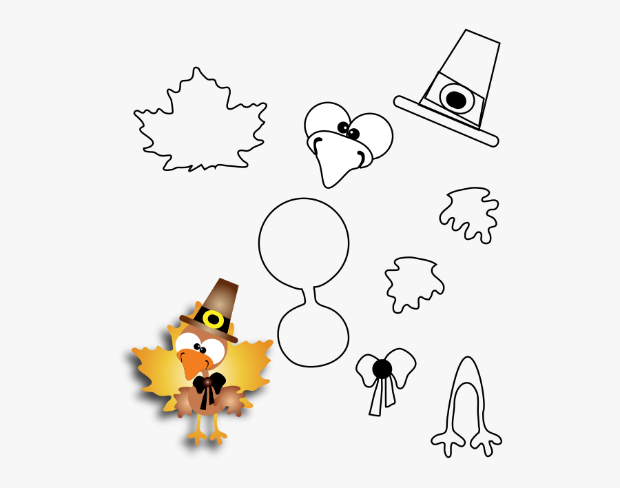 Transparent Thanksgiving Cornucopia Png - Printable Thanksgiving Arts And Crafts, Transparent Clipart