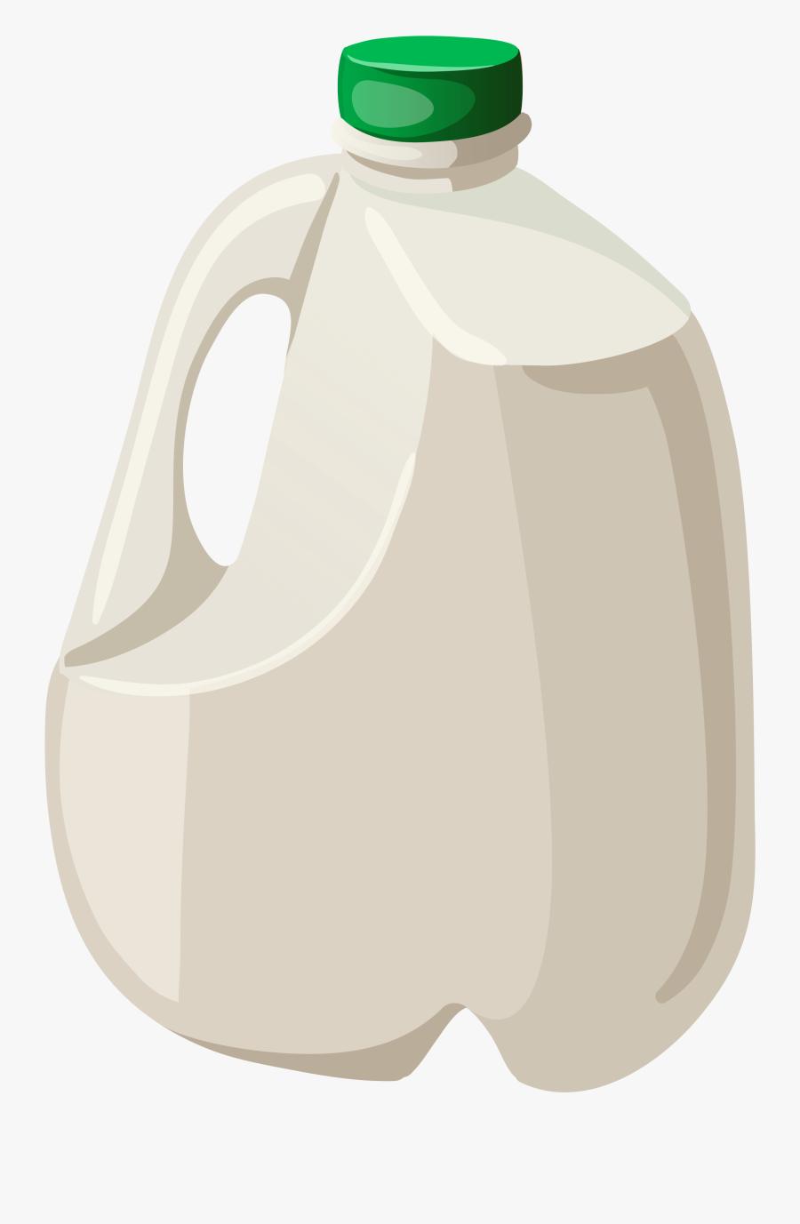 Milk Png Clipart , Png Download - Large Milk Bottle, Transparent Clipart